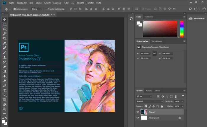 Adobe Photoshop Image